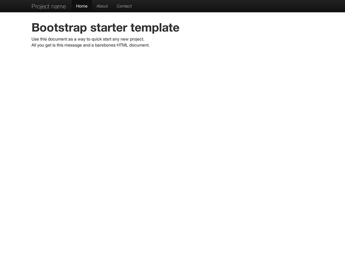 Getting · Bootstrap