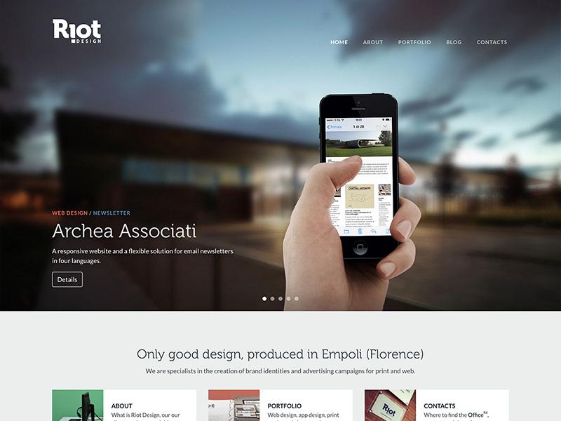 bootstrap web design - pacq.co