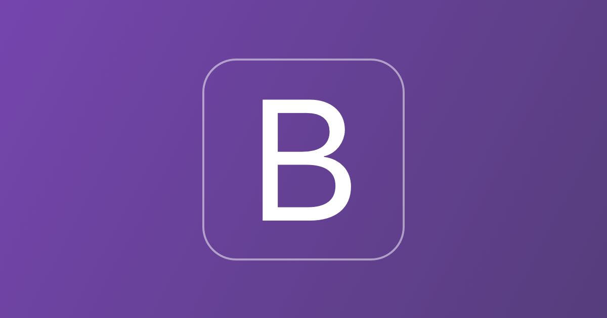 Bootstrap · The most popular HTML CSS and JS library in