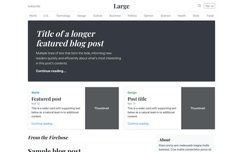 Blog ekran görüntüsü